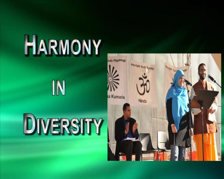 Harmony in Diversity Web Site
